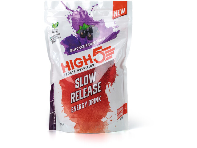 High5 Slow Release Energy Drink Sachet 1000g, Black Currant
